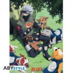 naruto-poster-kakashi-and-dogs-52×38