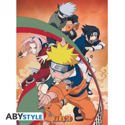 Naruto The Team Poster