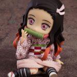 Demon Slayer Kimetsu no Yaiba Nendoroid Doll Action Figure Nezuko Kamado 14 cm e