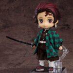 Demon Slayer Kimetsu no Yaiba Nendoroid Doll Action Figure Tanjiro Kamado 14 cm b