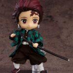 Demon Slayer Kimetsu no Yaiba Nendoroid Doll Action Figure Tanjiro Kamado 14 cm c