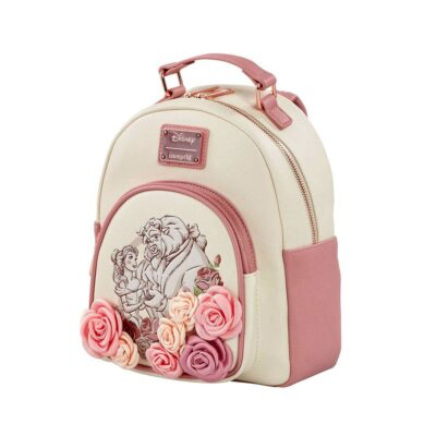 Loungefly Beauty and the Beast Exclusive Flowers Backpack