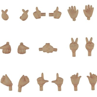 Nendoroid Doll Hand Parts Set 02 (Cinnamon)