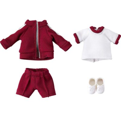 Original Character Parts for Nendoroid Doll Figures Outfit Set (Gym Clothes - Red)